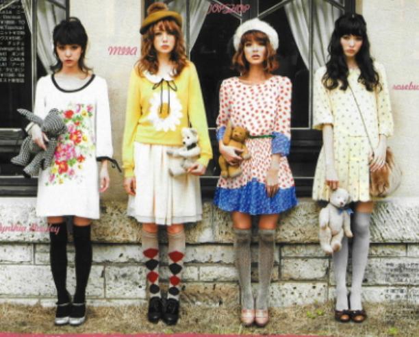 พาส่องไอเท็มถุงเท้า vs ถุงน่องน่ารักๆ แบบสาวญี่ปุ่น