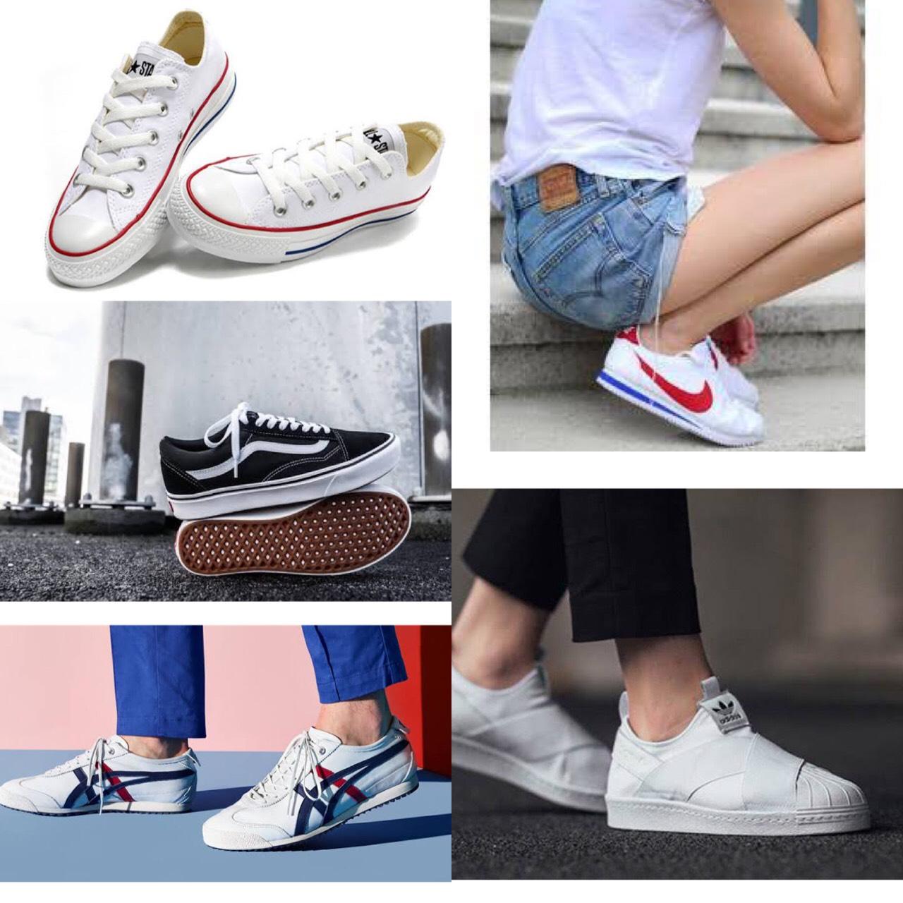 รองเท้าผ้าใบดารา ส่องผ้าใบสุดคลาสสิค แฟชั่นรองเท้าที่ตัวแม่มี เราก็ต้องมี!