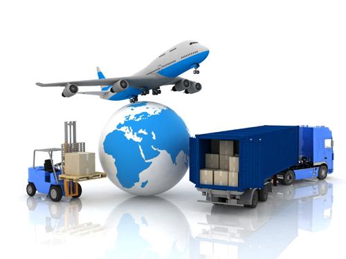 ระบบขนส่ง เสื้อผ้าจากต่างประเทศ