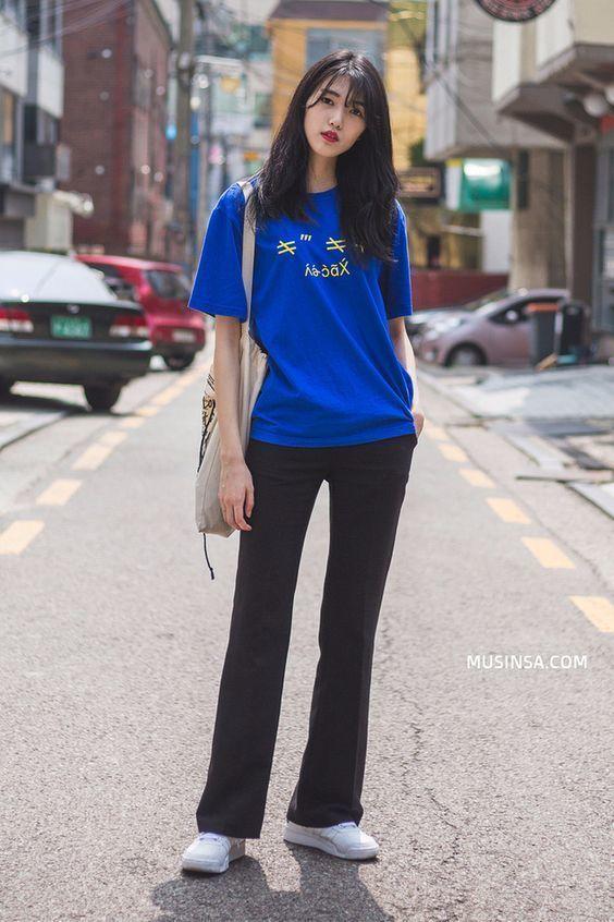 วิธีแมทช์เสื้อผ้าโทน สีน้ำเงิน -ฟ้า