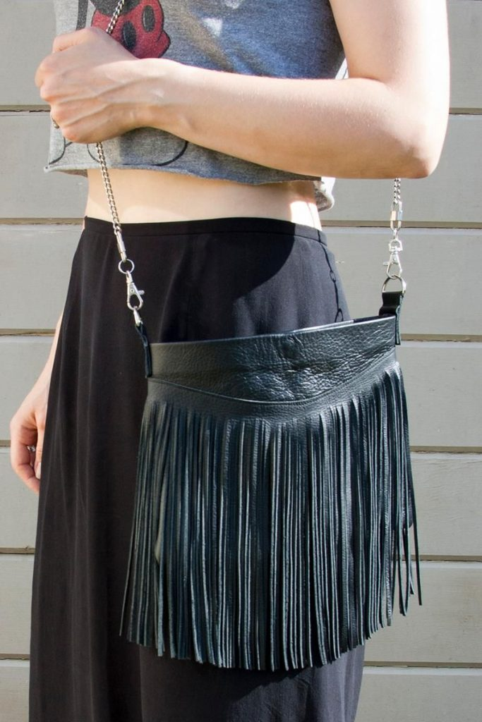 Fringing on the Bags