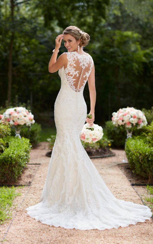 Trumpet wedding dress ชุดแต่งงานทรงทรัมเป็ต